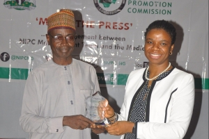 NIPC Wins Award for Compliance and Transparency.