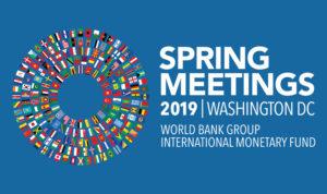 2019 Spring Meeting of IMF @ Washington DC