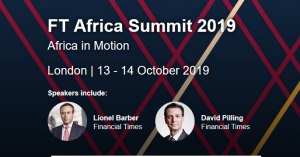 FT Africa Summit 2019 @ London